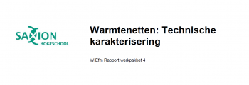 Bericht Warmtenetten: Technische karakterisering online